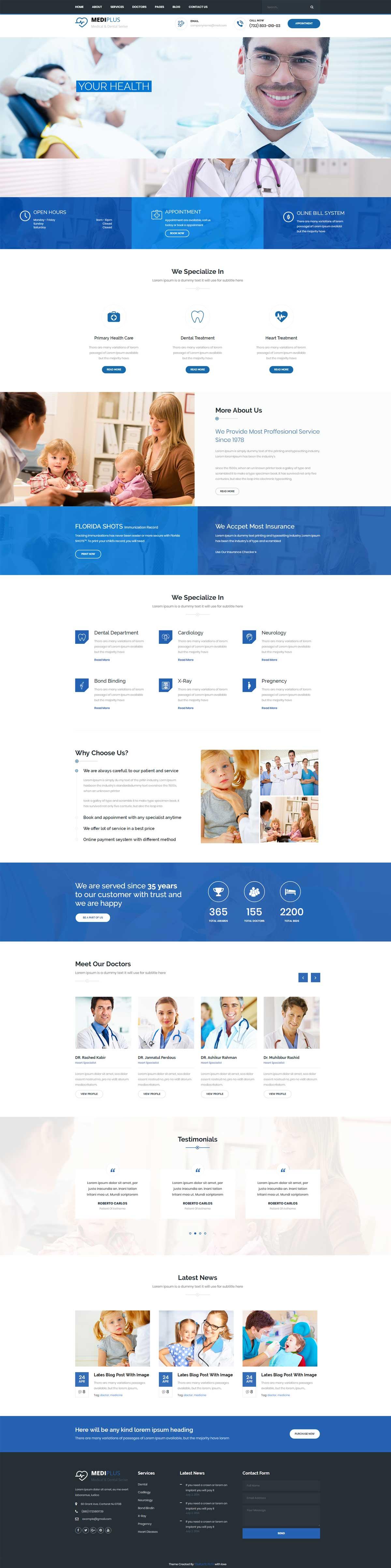 儿童医院医疗服务网站