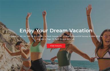 响应式的旅行社服务网站